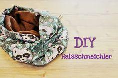 GrinseStern: halsschmeichler {DIY} ... Schal, loop in 2 Größen