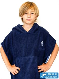 d50bea6d588 Hooded Towels, Swim Robes & Beach Robes for Children by Terry Rich. Terry  Rich Australia