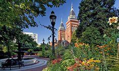 Smithsonian's Mary Livingston Ripley Garden via @Smithsonian Gardens