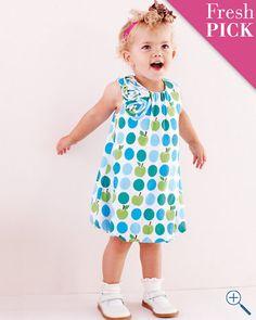 Bella Bubble-Hem Knit Dress - Baby Girls