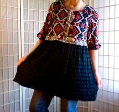 68  Empire Retro Shabby Chic Women's Medium Clothing: by ArtzWear