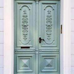 #sandrajuto light blue door