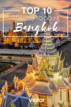 Want to cross Southeast Asia off your travel bucket list? Visit Bangkok, Thailand for an unforgettable time!