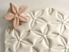 Clay Stamp Star Flower Jasmine Shape Pattern Texture Shape Tool for Clay Ceramics Pottery Metal Clay Fondant Cookies. $12.95, via Etsy.