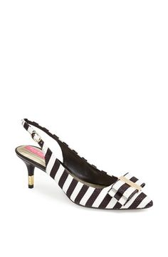 Isaac Mizrahi New York 'Mindy' Stripe Slingback Pump available at #Nordstrom