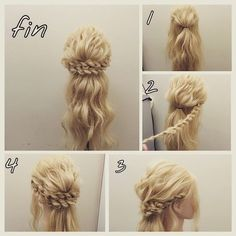 Princess Braided Updo Hair Tutorial ~ Entertainment News, Photos & Videos - Calgary, Edmonton, Toronto, Canada: