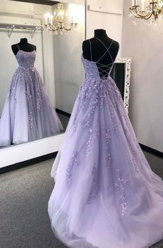 2020 New Prom Dresses with Appliques and Beading Long Prom Dress Fashion School Dance Dress W. - 2020 New Prom Dresses with Appliques and Beading Long Prom Dress Fashion School Dance Dress Winter Formal Dress Source by - Light Purple Prom Dress, Lavender Prom Dresses, Pretty Prom Dresses, Straps Prom Dresses, Hoco Dresses, Quince Dresses, Purple Prom Dresses, Tulle Prom Dress, Prom Dresses Spaghetti Strap