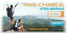 #AwakeEnergy Take charge of the weekend with Awake Energy Shots: http://www.isotonicsupplementstore.com/awake-energy-shot-energy-booster.html