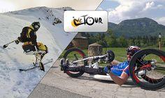 LE TOUR – na handbiku do Paríža Tours, Sports, Projects, Hs Sports, Log Projects, Blue Prints, Excercise, Sport, Exercise