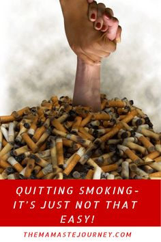 Quitting Smoking- It's Just Not That Easy. I Go To Work, Going To Work, Face Breaking Out, I Quit Smoking, Dealing With Stress, Have You Tried, Face Cleanser, How I Feel, Good Mood