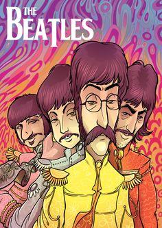 El rock ilustrado a todo color (megapost fan art)