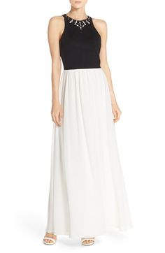 Ali & Jay Embellished Colorblock Maxi Dress available at #Nordstrom
