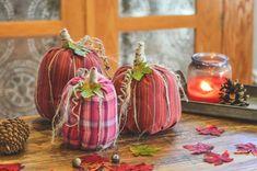 No Sew Shirt Sleeve Pumpkins, an adorable fall DIY decor project. Make a cute pumpkin, this easy and fun No Sew Shirt Sleeve Pumpkin is an adorable fall DIY decor project. Nature Crafts, Fall Crafts, Halloween Crafts, Holiday Crafts, Crafts To Make, Diy Crafts, Fall Halloween, Halloween Sewing, Halloween Porch