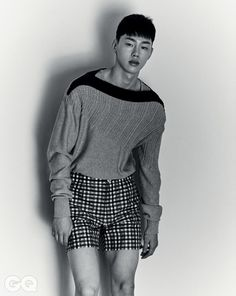 Kwon Hyun Bin ph Kim Cham for GQ Korea May 2015