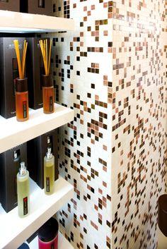 Custom #Mosaic Mix - #Agglomerates: RS 607 (#Trend Q 607) - #Millefiori #Milano #Showroom ∙ Boca Raton, FL ∙ USA