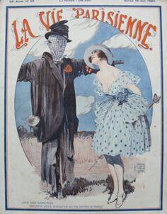 La Vie Parisienne,  Samedi 19 Juin 1920 ~ Georges Léonnec