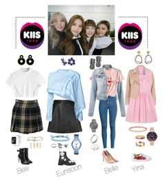 """""""[RADIO] Kiis fm 1065 Australia interview + performance"""" by official-madampearl ❤ liked on Polyvore featuring Loveless, River Island, J.W. Anderson, Miu Miu, Vivienne Westwood Anglomania, Off-White, Dr. Martens, Jimmy Choo, MANGO and Lele Sadoughi"""