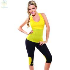 099da08eeb213 2016 Women Body Shaper Neoprene Hot Shapers Colorful Tank Top Sports