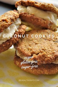 The best healthy cookie recipe you can find! SUGAR-FREE, GLUTEN-FREE, VEGAN, PALEO AND DELICIOUS!