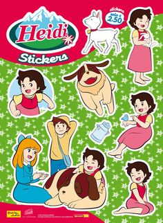 alps Heidi stickers 2nd Birthday Parties, 4th Birthday, Space Pirate Captain Harlock, Tokyo Ravens, Space Dandy, Wallpaper Space, Daddy Long, Totoro, Costumes