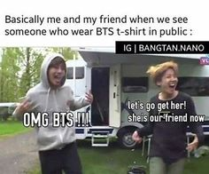 Wow this just happened to me today <--- I've never been near someone who likes KPOP T.T