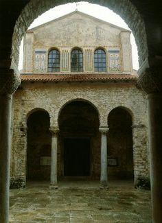 Parenzo. Basilica Eufrasiana. VI sec