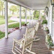 Modern Rustic Farmhouse Porch Decor Ideas 11
