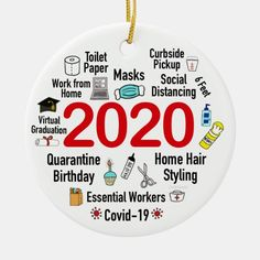 Funny 2020 Covid Quarantine Christmas Keepsake Ceramic Ornament - tap/click to personalize and buy #CeramicOrnament #2020 #ornament, #pandemic #christmas #ornaments, Funny Christmas Ornaments, Personalized Christmas Ornaments, Christmas Humor, Christmas Diy, Custom Ornaments, Christmas Stuff, Adult Crafts, Easy Crafts, Tree Designs