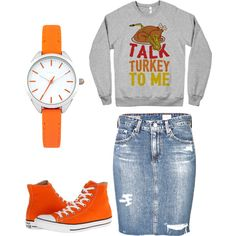 A fashion look from November 2014 featuring AG Adriano Goldschmied mini skirts, Converse shoes and Oasis watches. Browse and shop related looks.
