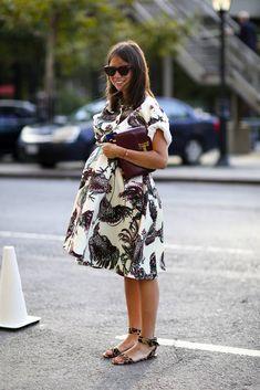 Kleider für Schwangere im Jahr 2017   Mode