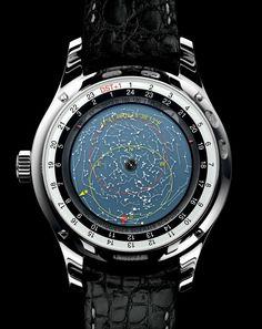 IWC Portuguese Sidérale Scafusia Watch #IWC #Astronomy #Luxury