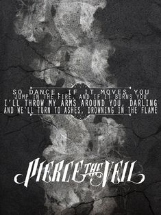 Piere the Veil lyrics Props and Mayhem