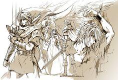 Hylia's Chosen Hero by tak @karasuki