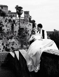 Italian wedding (photo by David Burton for Elle Bride Italia 2010)....