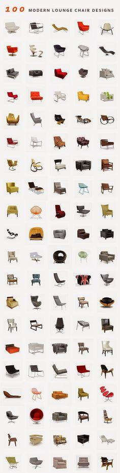 Miguel García González: 100 #Diseños Modernos para #Butacas