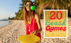 The Best Beach Games for Adults. Spikeball, KanJam, Speedminton, RampShot, Kubb Molkky, Tidalball and many more. Your day at the beach won't be boring!