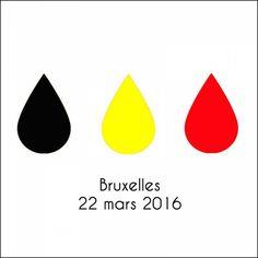 Les premiers dessins et hommages aux victimes des attentats qui ont frappé Bruxelles ce matin   Buzzly