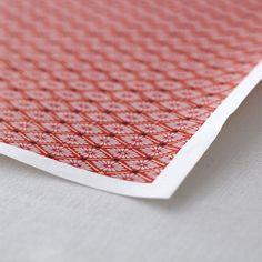 友禅紙 菊菱 レッド 2枚入 - WACCA ONLINESHOP Japanese Paper, Japanese Style, Washi, Handmade, Food, Japan Style, Hand Made, Japanese Taste, Essen
