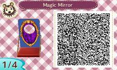 Ville Disney : Panneau photo  miroir magique de Blanche Neige ⛄