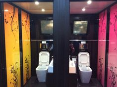 Cube Colors by Fashion Toilet Design Italy