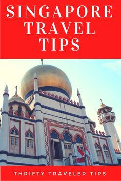 If you're planning a trip to Singapore, you'll want to read this first!