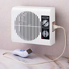Thermaflo Bath Bed Outlet Heater Small Electric Portable Off The Wall
