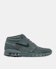 the best attitude a0d1e 7f410 Nike SB - Stefan Janoski Max Mid Leather (Hasta   Green Glow   Seaweed).  Grön ...