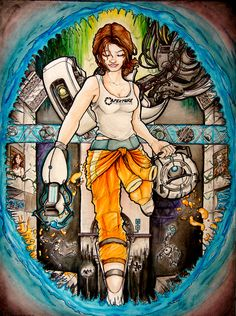 Chell from Portal...HECK YES!!