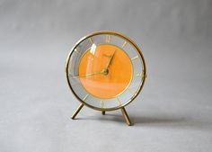 Hey, I found this really awesome Etsy listing at https://www.etsy.com/listing/269571471/vintage-teak-desk-clock-table-clock