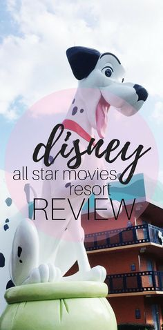 Disney's all star movies resort review. This value resort is a budget conscious family option for a frugal Disney vacation.