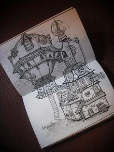 Steampunk House / By Celson Kisler
