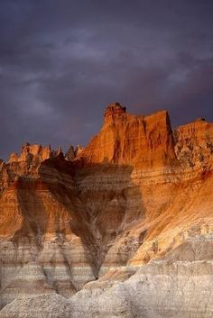 "Badlands National Park, South Dakota. I was there this summer. It is the most beautifully ""raw"" landscape."