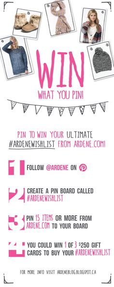 Win what you pin! Create a board called #ARDENEWISHLIST & pin 15 items+ from ardene.com. You could win a $250 Ardene gift card! Create A Board, Crafts To Make, Cards, Gifts, Stuff To Buy, Christmas, Diy, Clothes, Ideas