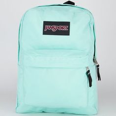 JANSPORT Black Label SuperBreak Backpack. I want this one for school and decorate it with a silver sharpie!